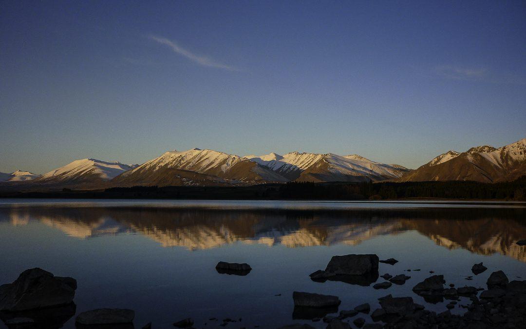 Sunset On Lake Tekapo