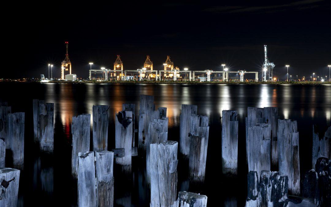 Princes Pier Shipping